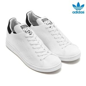 Adidas Stan Smith Primeknit Boost Lace Up Sneakers